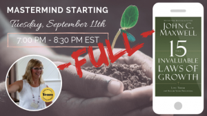 Mastermind #1: 15 Invaluable Laws Of Growth Teleconference (7:00 PM - 8:30 PM EST)
