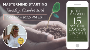 Mastermind #3: 15 Invaluable Laws Of Growth Teleconference (9:00 PM - 10:30 PM EST)
