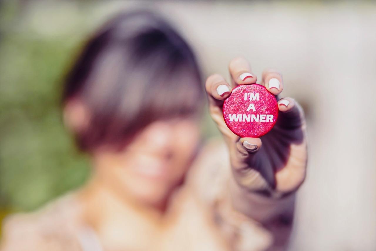 "abundance affirmation ""I'm a winner"""